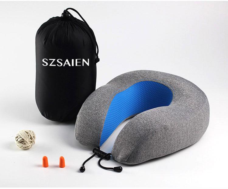 cooling gel memory foam pillow