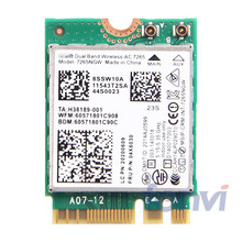 New Dual band Wireless-AC For Intel 7265NGW WIFI BlueTooth Card 802.11ac 2x2 NGFF Wireless Wifi BT 4.0 Network Card FRU:04X6030