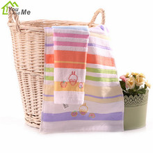 Home Textiles 100% Cotton Cartoon Mashimaro Baby Shower Towel  Soft Absorbent Face Hand Towel 73x35cm