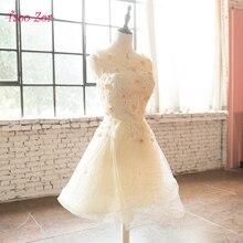 TaooZor New Bridesmaid Dresses Plus Size 2018 Summer Short Champagne Bride Wedding  Party Gown Wholesale Cheap Fashion Dress fb85ed582007