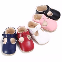 Newborn Baby Moccasin Babies Shoes Soft Bottom PU Leather Toddler Infant First Walkers Boots 5 Colors Choice