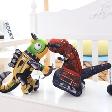 1pcs 30cm  Cotton Robot Dinosaur Plush Toy Cute car Grabexcavator Stuffed Plush Soft Toys Gift with Opp Bags toys for kids