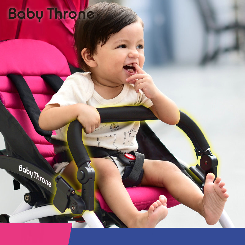 BABYTHRONE baby stroller accessory practical baby stroller armrest can be foot rest adjustable armrest no need to remove  <br><br>Aliexpress