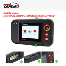 Launch Creader VIII Universal 4 system Auto Diagnostic tool same as CRP129 Auto Code reader Scanner Free Update Online(China)