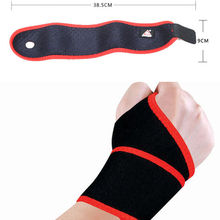1PCS Adjustable Elastic Wrist Support Sports Gym Stretchy Wrist Joint Brace Wrap Bandage Weight Lifting Wrist Wraps Wristband