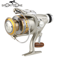 8 BB Fishing Reel Spool Gear Aluminum Alloy Ocean Spinning Reel Collapsible Carp 5.1:1 Fishing Wheel RB 40 Carretilha Pesca