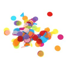 8000pcs Multi Colors Confetti Round Shape Biodegradable Tissue Paper Wedding Party Decorative Crafts Balloon Party Decoration