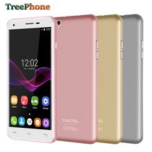 "Original Oukitel U7 Max 5.5"" HD SmartPhone MT6580A Quad Core 3G cell phone 1G+8G 13MP Dual Camera Android 6.0 GPS mobile phone"