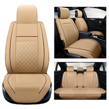 Seat Covers Supports 6pcs/10pcs 5 seats Car Seat Cover Set for VW/BMW/KIA Car Seat Covers(China)