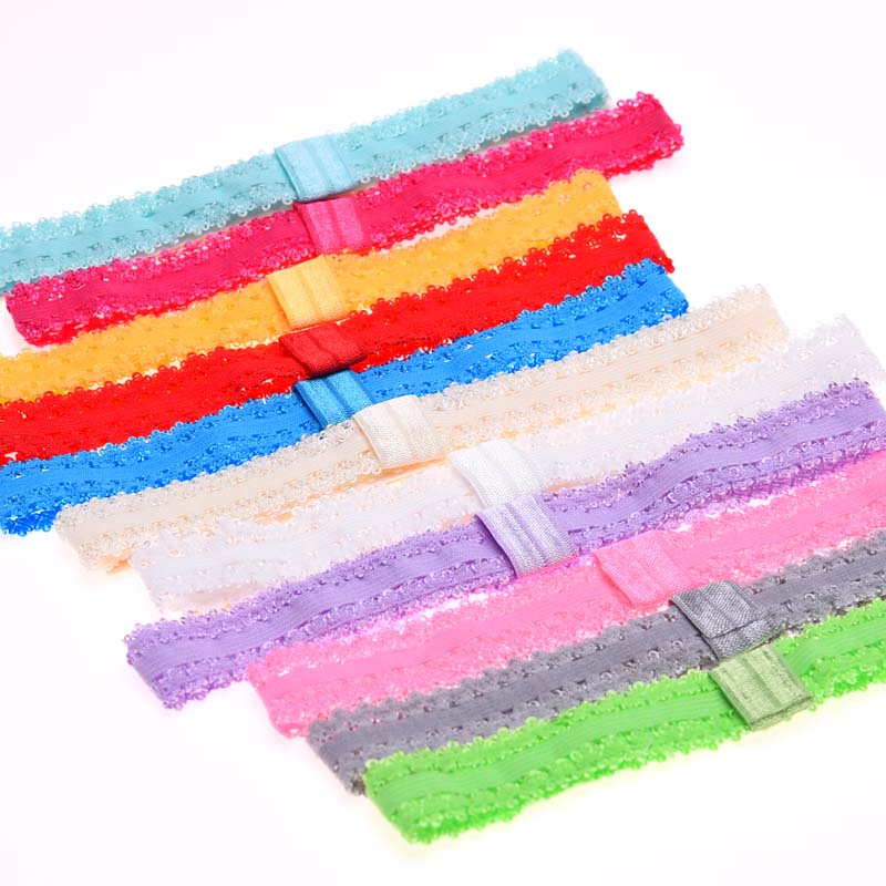 15pcs Newborn lace headbands s hairbands hair elastic head bands hair headband flower(China (Mainland))