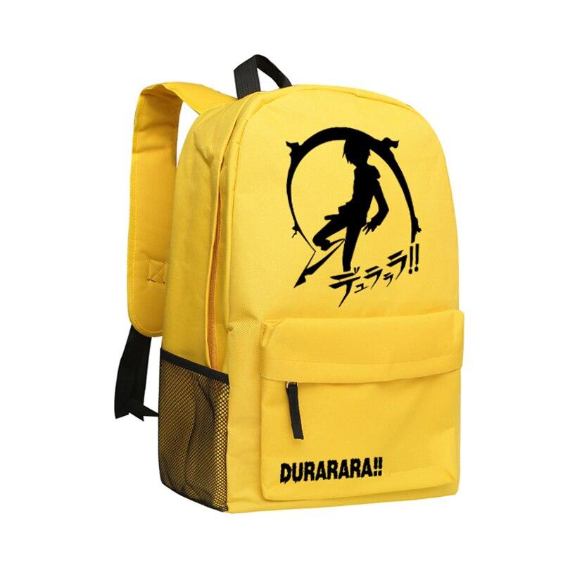 Zshop Game Backpack Durarara 3way Standoff Boys School Bag DRRR Backpacks School Students<br>