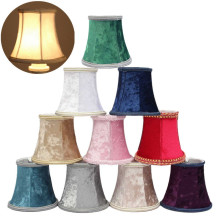 Colorful Lint Lamp Cover Modern Lamp Shades Wall Lamp Pendant Light Hanging Lampshade For Bedroom Living Room(China)