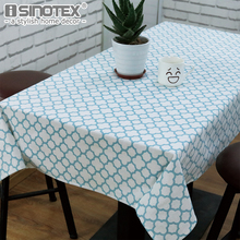 Pink Blue Tablecloth Sytlish Linen Cotton Table Cover Cloth Country Style Multifunctional Rectangle Plaid Print Home Kitchen