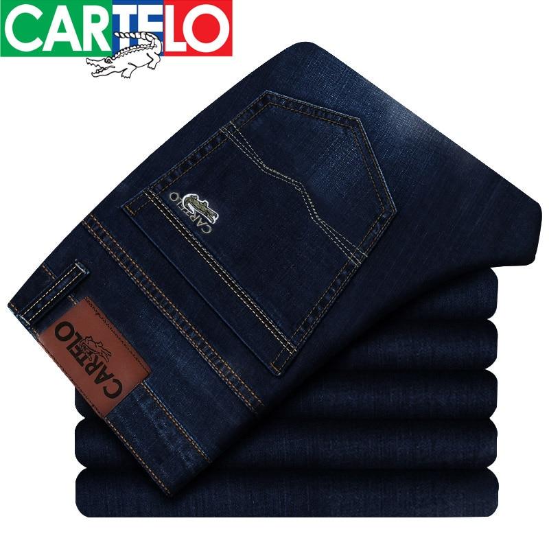 Cartelo/brand 2017 Fashion Casual Trousers For Male Autumn Spring New High Quality Brand Jeans Men Îäåæäà è àêñåññóàðû<br><br>