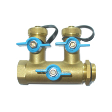 Self-Designed and Produced Brass Pre-fill Surge Valve Three Head 3/4 inch for Split Solar Water Heater(China)