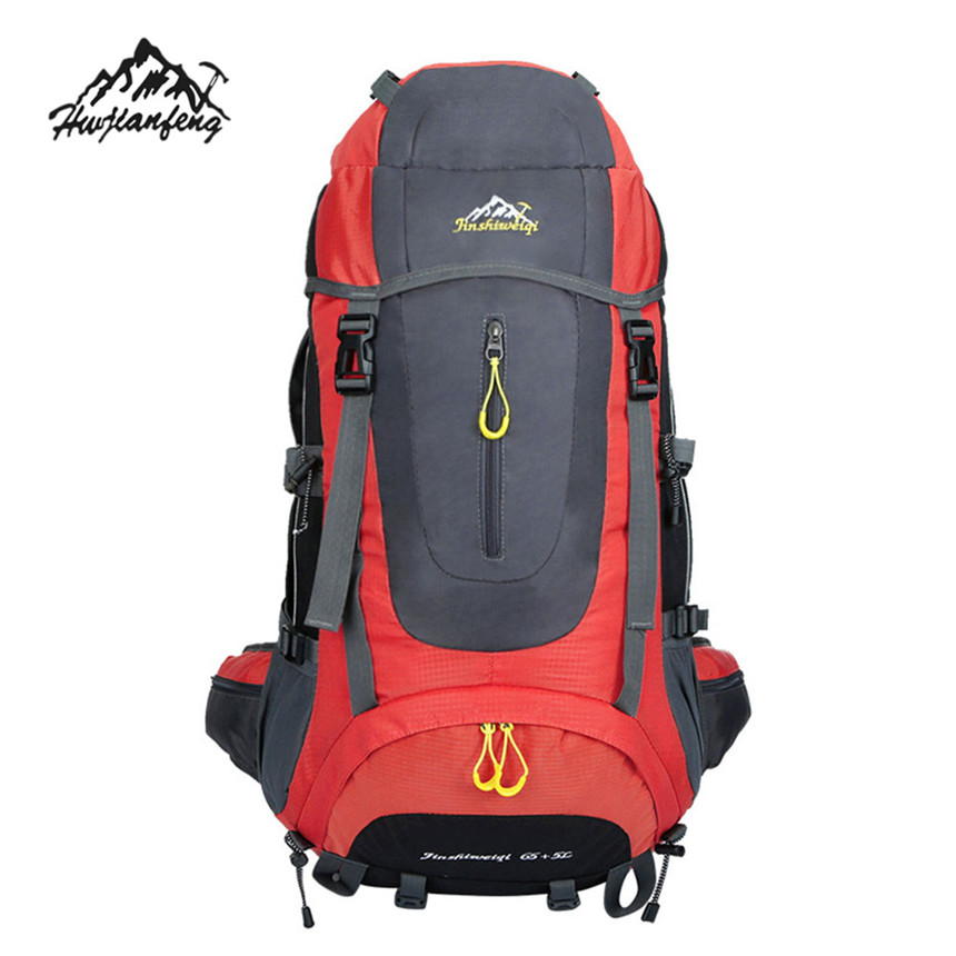 Premium Backpack Gifts Outdoor Shoulders Bags Sports Climbing Waterproof Travel Hiking Camping Luggage Backpack Rucksack Bag 60L<br><br>Aliexpress