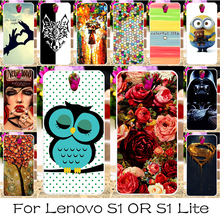 DIY Soft Silicon Mobile Phone Cover Case For Lenovo Vibe S1 S1C50 S1A40/Lenovo Vibe S1 Lite Lenovo S1La40 Back Covers Shell Hood