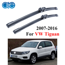 Oge Windscreen Wiper Blades For VW Tiguan 2007-2016 Windshield Pair 24''+21'' Silicone Rubber Car Accessories