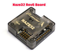 Naze 32 Naze32 6 DOF 10DOF with Mag and Baro Sensor Rev6 Black Straight Side Pins + Case For Quadcopter