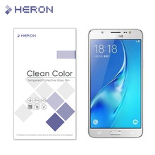 0.3mm Tempered Glass for Samsung Galaxy J5 2016 J5108 2.5d Round Border Anti Explostion Finger Print Film with Retail Package
