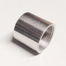"1-1/4"" BSP Female Thread 304 Stainless Steel Pipe Fitting Full Socket Round Connector for water oil air"