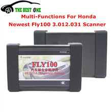 Lowest Price Ever! Fly100 Scanner For Honda Immobilizer Odometer Rewrite DTC Clear Diagnostic Tool Key Programer Full Version(China)