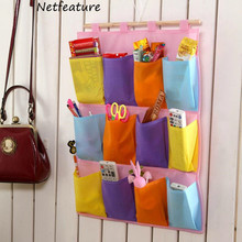 12 Pockets Of Large Capacity Folding Space Saving Environmental Protection High Quality Non-Woven Pocket Hanging Storage Bags