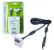 For Xbox 360 controller Charger Cable power cord usb cable for xbox360 joystick with retail package