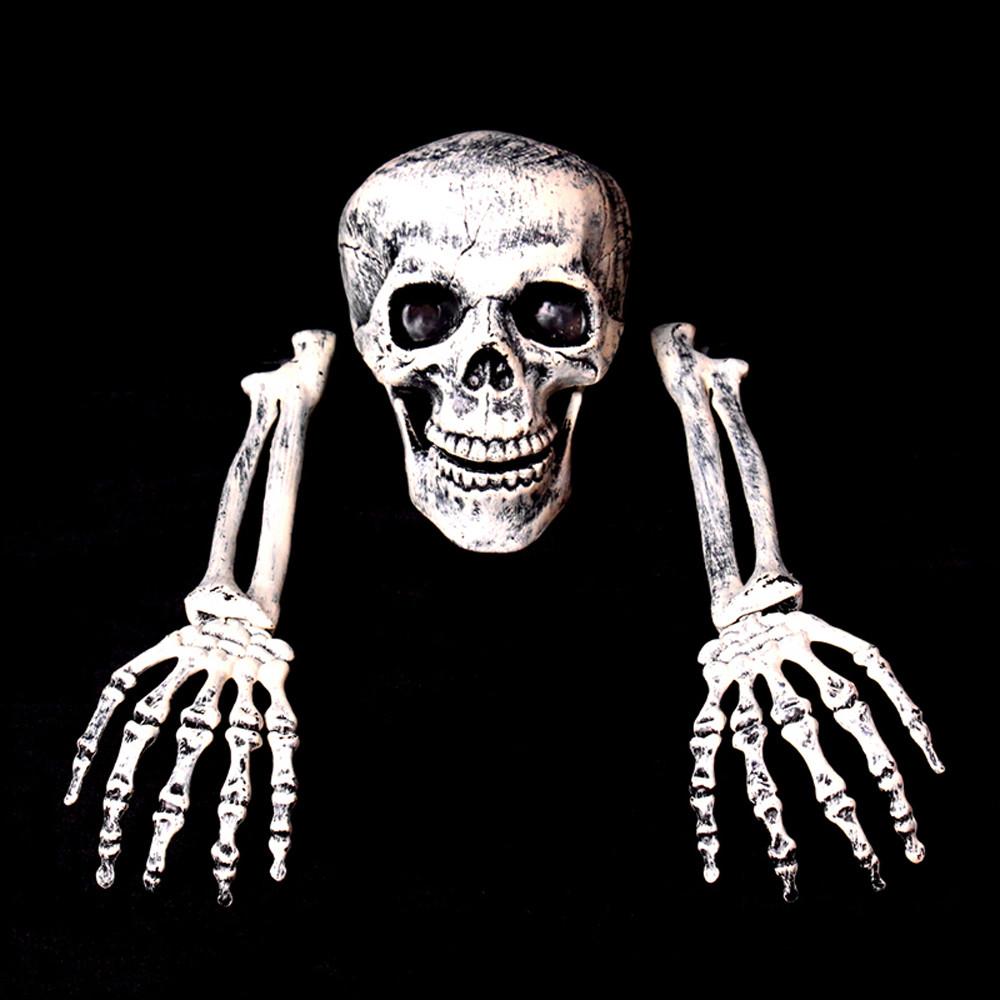 Halloween Horror Buried Alive Skeleton Skull Garden Yard Lawn Decoration