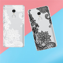Black and white Narcissus Phone Case For Xiaomi Redmi 3 3S 4A 4X 4 4S Note 3 4 4X 5A Case Back cover