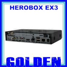 5pcs herobox ex3 HD DVB-S2/T2/C 751MHZ MIPS Processor  512MB DDR3 hero box ex3 hd 5pcs/lot by DHL shipping