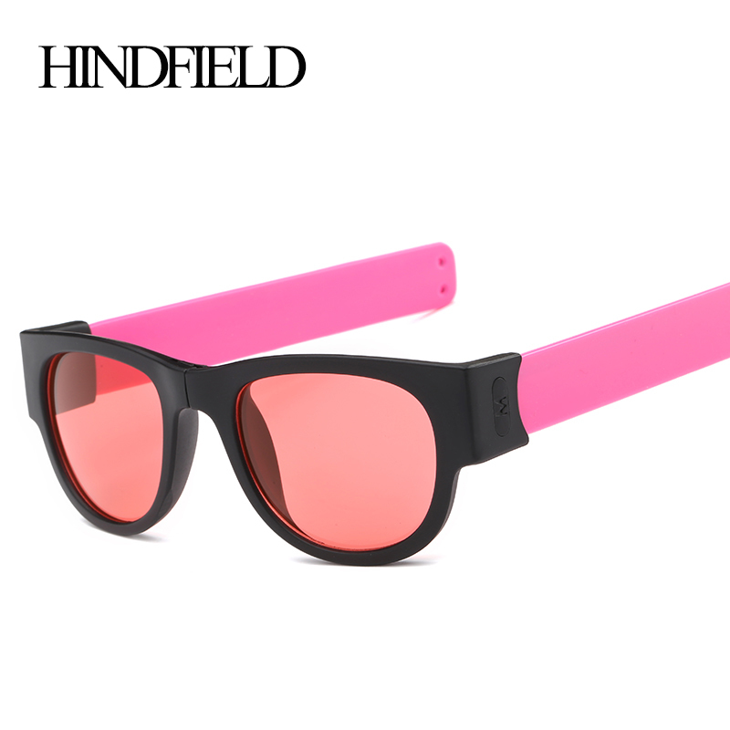 HINDFIELD Polarized Sunglasses Women Brand Designer Fashion Outdoors Sports Folding Sun glasses For Men oculos de