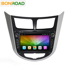 "7""Quad Core 1024*600 Android 6.0 Car DVD GPS Player For Solaris Verna Accent Car PC Headunit Car Radio Video Player Navigation(China)"