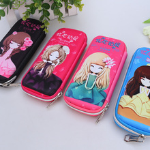 2016 new cute pencil case for girls high quality stationery School Supplies Multifunction Korean Fashion Cartoo Pencil Case 1pcs(China)