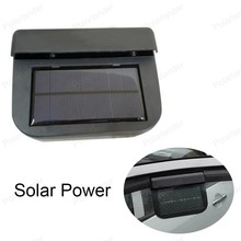 New Car Ventilation Fan Solar Sun Power Auto Ventilator Cooler Air Vehicle Radiator vent Car Window Fan