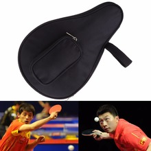 Waterproof Table Tennis Racket cPaddle Bat Bag Pouch with Ball Case(China)