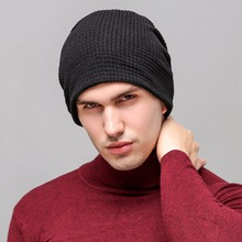 New Brand Unisex Cotton Fashion Wool Cap For Men Women Outdoor Caps Casual Youth Warm Hats For Winter(China)