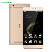 LEAGOO Shark 5000 3G Mobile Phone 5000mAh Android 6.0 5.5 Inch HD IPS MT6580A Quad Core 1GB RAM 8GB ROM 13.0MP+8.0MP Smartphone