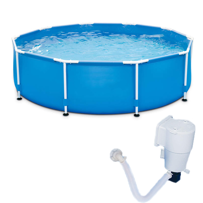 Unique Swimming Pool With Filter Pump Quick Connect System For Easy Set Up