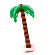 90cm Inflatable Blow Up Hawaiian Tropical Palm Tree Beach Pool Party Decor Toy Supplies E2S
