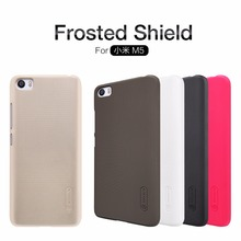 Original Nilkin Super Frosted Shield Hard Back PC Cover Case for Xiaomi M5 Mi5 Phone Case + Screen Protector