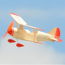 Aeroplane TY Model NO.5 296mm Wingspan Wood Park Flyer RC Airplane KIT