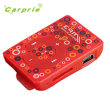 Carprie New Mini USB Clip Digital Mp3 Music Player Support 8GB SD TF Card 17Jun12 Dropshipping