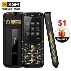 Мобильный кнопочный телефон AGM M2 IP68, 2,4 дюйма