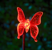 Solar Lamps  fairy tale Butterfly  Christmas Outdoor Garden solar led decoration  Novelty light