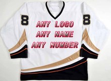 Custom Factory OEM Hockey Jerseys 2006-07 Embroidery Mens Supplier Tackle Twill Shirt USA CANADA Australia Free Shiping