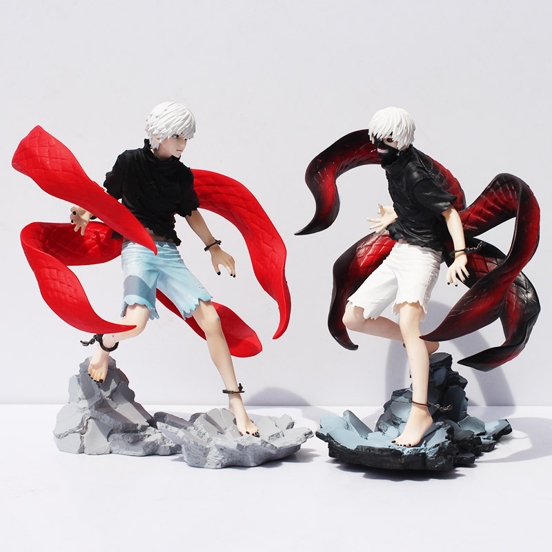 2 Styles 923cm Tokyo Ghoul Ken Kaneki Awakened Ver Action Figure Collectible Model Toy PVC Doll With Box Free Shipping<br>