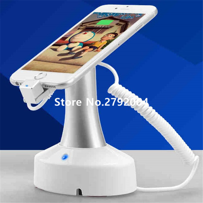 5 set/lot Mobile Phone Display Holder Cellphone Alarm Brand Name showing Charging for cellphone/ Samsung/ Android<br>