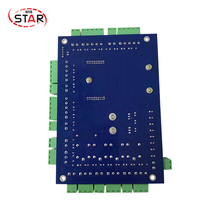 High Quality Free Software Access Control Board With TCP/IP Conmunication 4 Doors Access Controller panel(China)