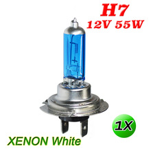 flytop H7 Halogen Bulb 12V 55W Xenon Dark Blue 5000K Super White Quartz Glass Car HeadLight Replacement Lamp